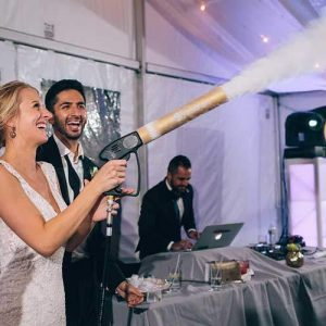 Persian Wedding DJ Cyro C02 Gun | CYRO C02 Cannons Gun | LED CO2 Cryo Cannon | DJ Taba