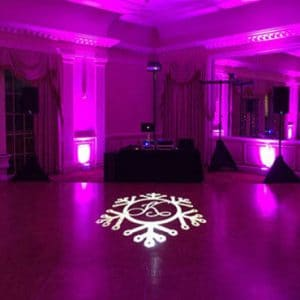 Custom Gobo Monogram