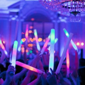 Wedding DJ services LED Foam Stick Wedding | LED Foam Sticks | LED Light Sticks Wedding DJ Services | DJ Taba