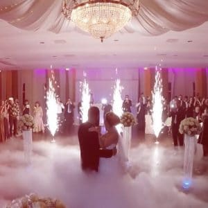 Persian Wedding DJ cold firework wedding | Cold Fireworks Rent Machines | Washington DC Fireworks | DJ Taba
