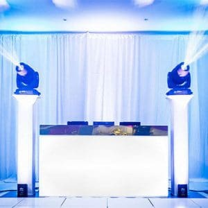 Wedding DJ services Dance Floor Lighting